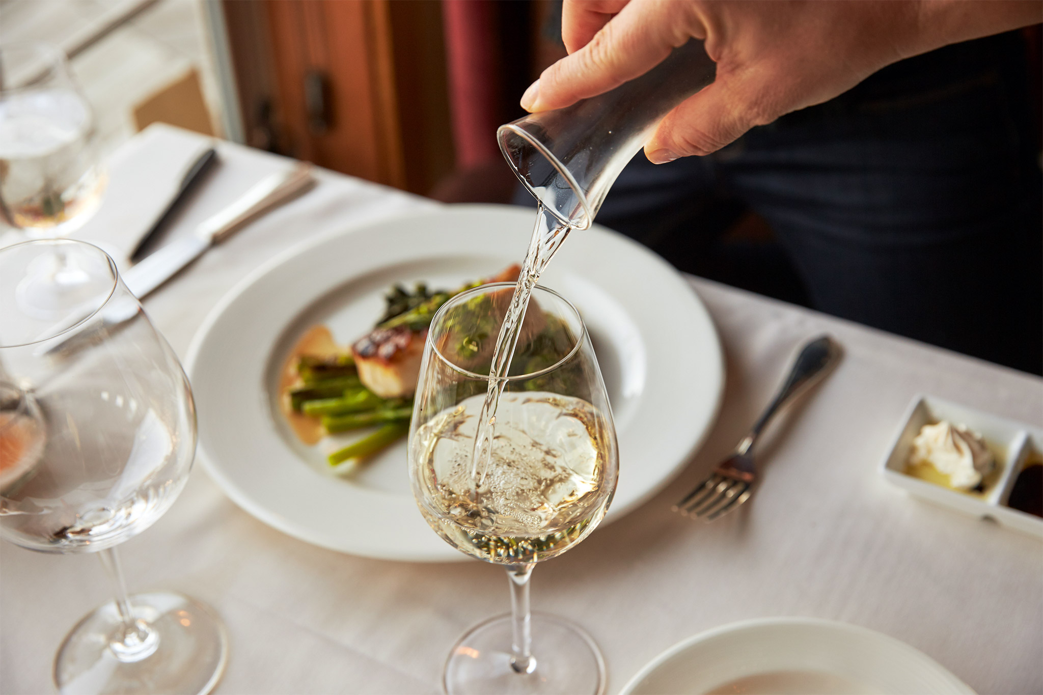 Pair a great wine with dinner