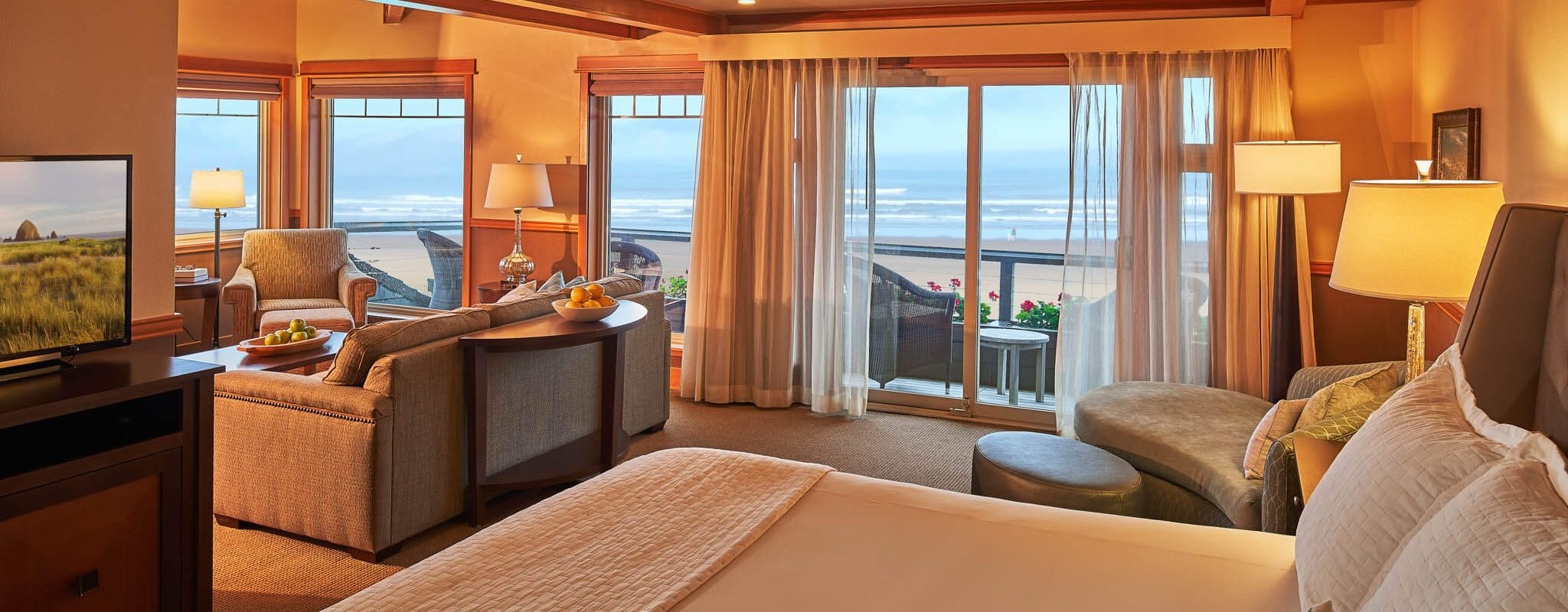 Oceanfront views from your bed