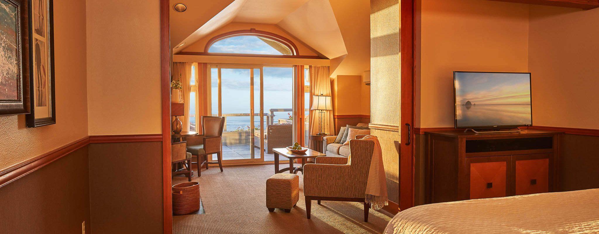 Oceanfront Dormer Room