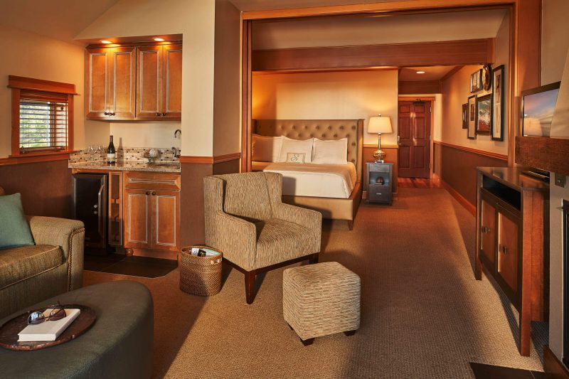 Oceanfront premier suite in Cannon Beach, Oregon