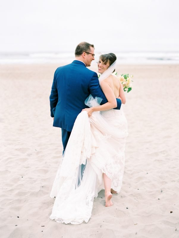 Oceanfront for your perfect wedding pictures.