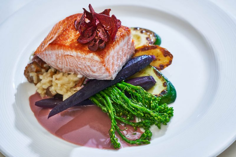 Stephanie Inn dinner plate