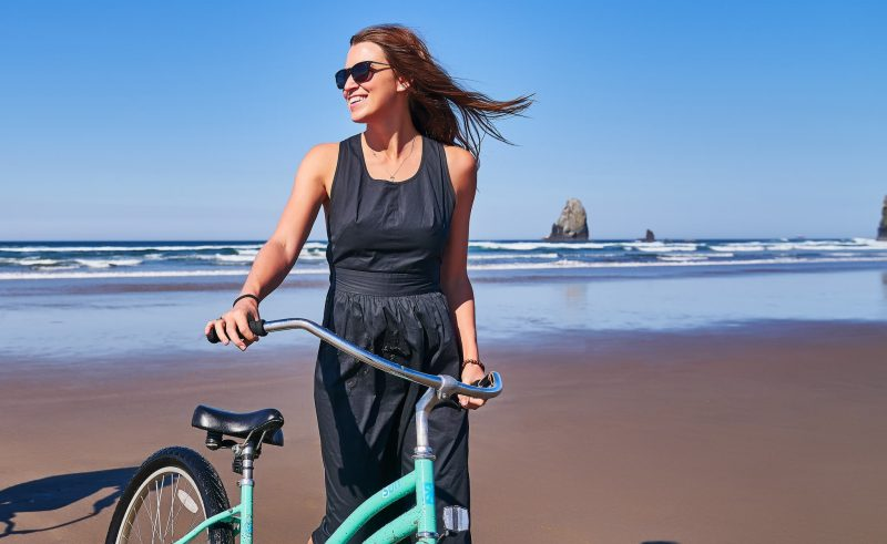 Take a fun bike ride on the beach