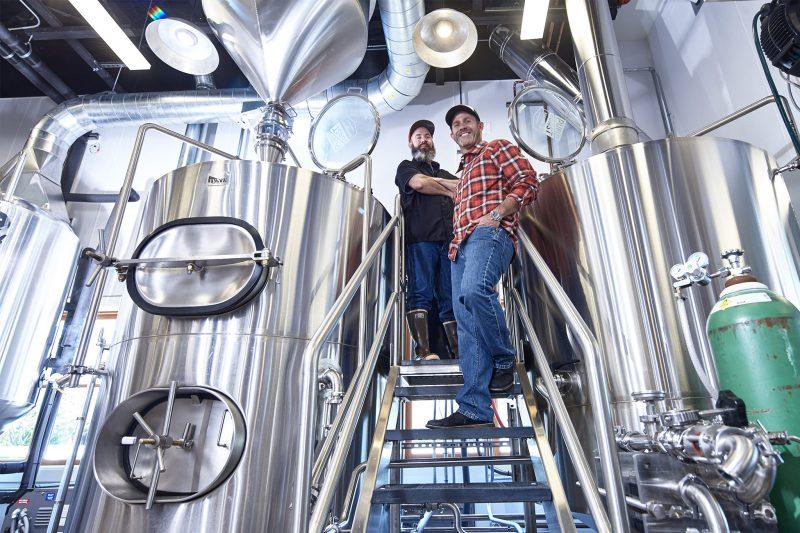 Brewing at Public Coast Brewing Co.