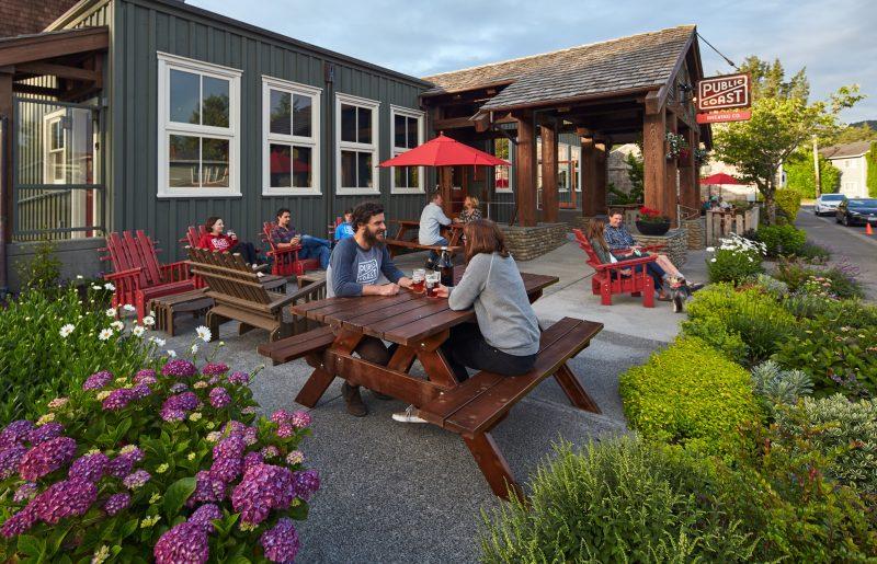 Public Coast Brewing Co. in Cannon Beach, Oregon
