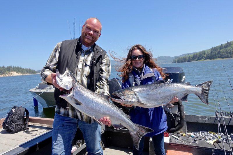 Fishing with Chef Aaron